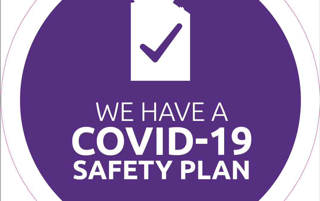 We're up-to-date with our COVID-19 Checklists