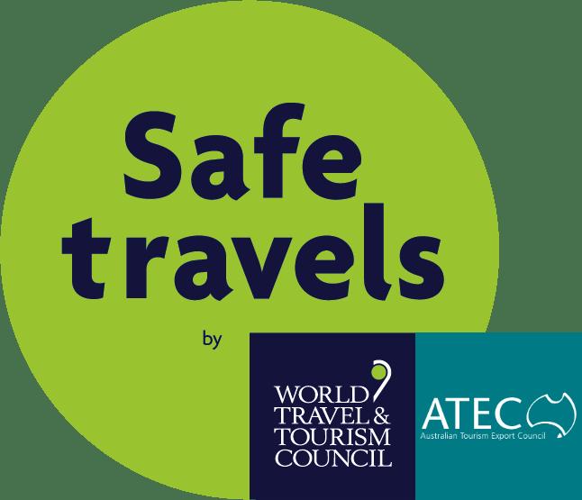 We've got the globally-recognised Safe Travels Stamp